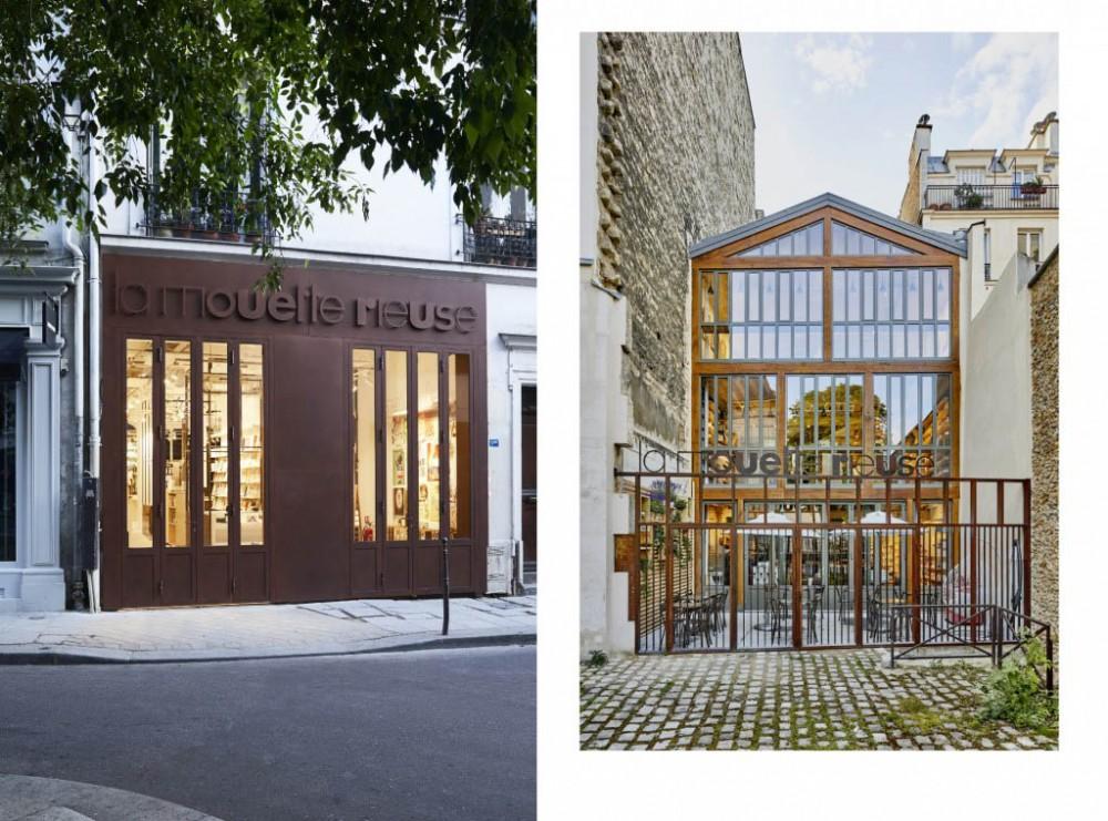 Thumbnail for La Mouette Rieuse : librairie dans le Marais